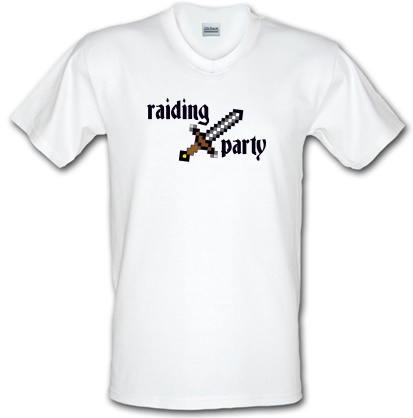 d2780eaf2fc7 Raiding Party V-neck T Shirt By CharGrilled