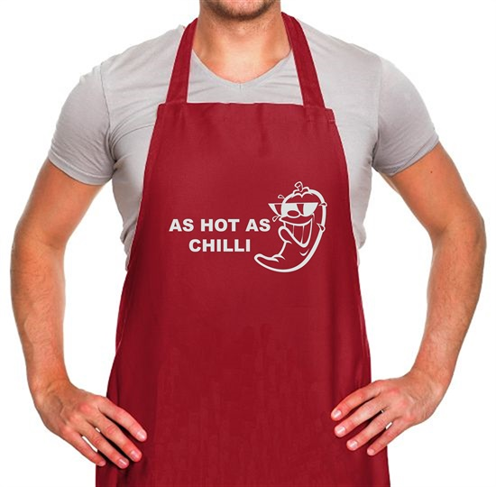 As Hot As Chilli Apron