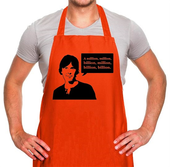 Brian Cox Million Billion Apron