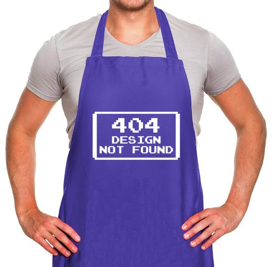 Design Not Found Apron