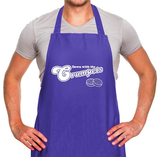 Down With The Crumpets Apron