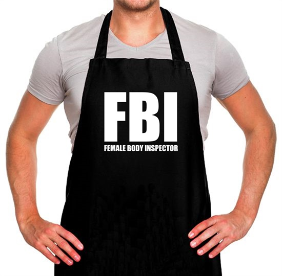 Female Body Inspector Apron