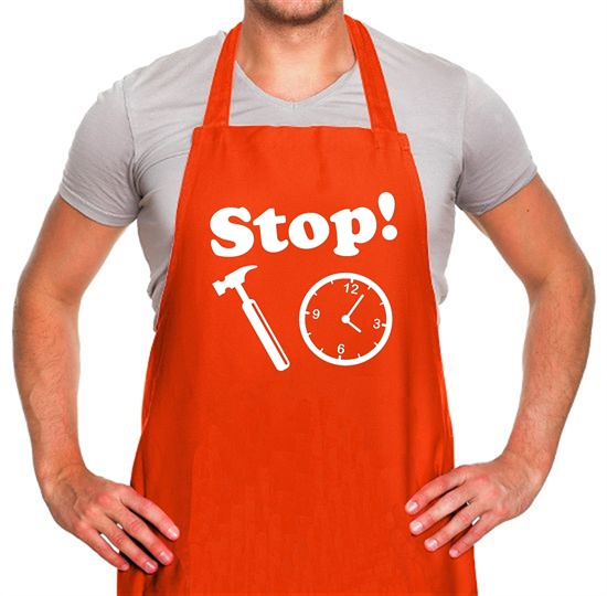 Stop! Hammer Time Apron