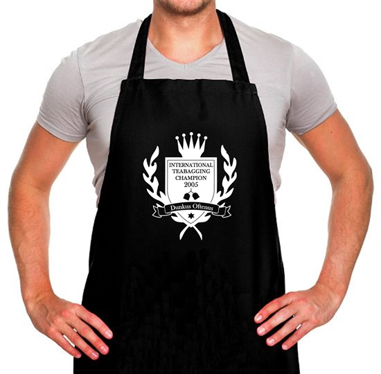 International Teabagging Champion Apron