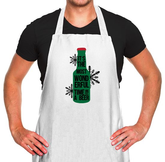 It's The Most Wonderful Time For A Beer Apron