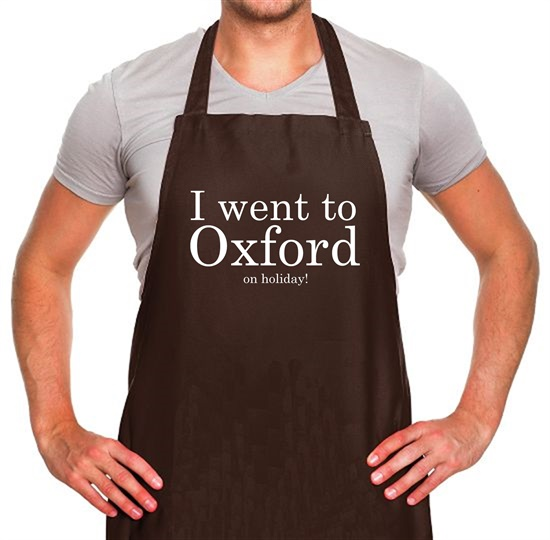 I Went To Oxford (on holiday) Apron
