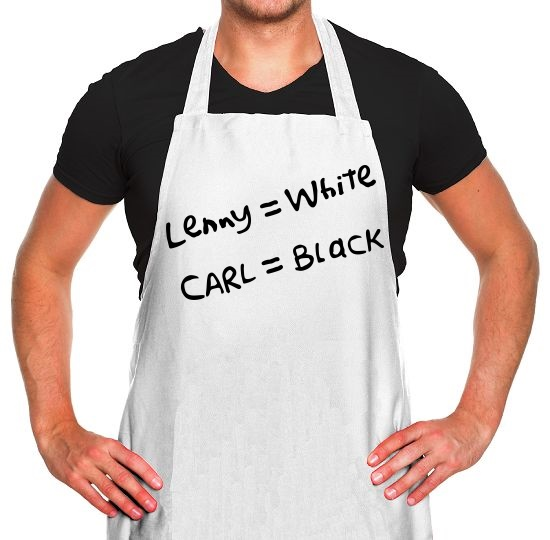Lenny White - Carl Black. Homer Hand Apron