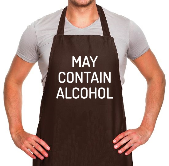 May Contain Alcohol Apron