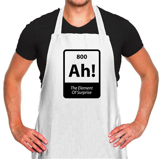 The Element Of Surprise Apron