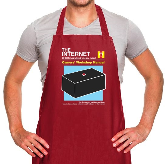 The Internet Owners Manual Apron
