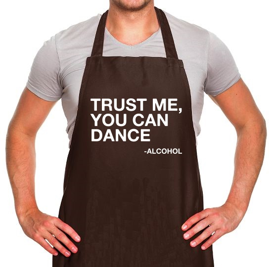 Trust Me, You Can Dance Apron