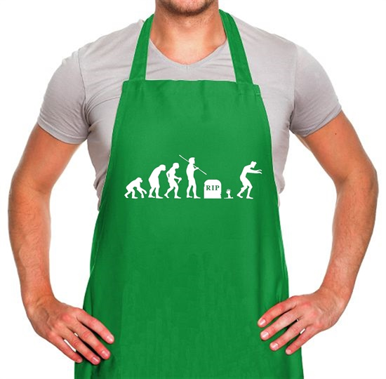 Zombie Evolution Apron