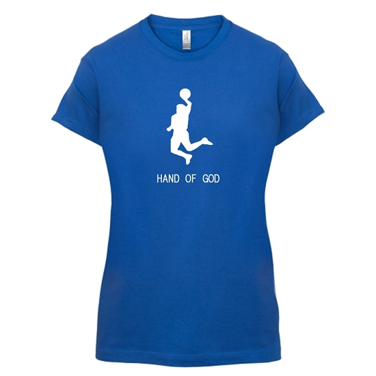 Hand of God t-shirts for ladies