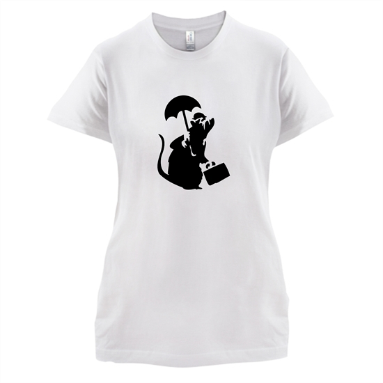 Banksy - Executive Rat t-shirts for ladies