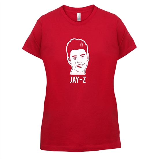 Bieber Jay-Z t-shirts for ladies