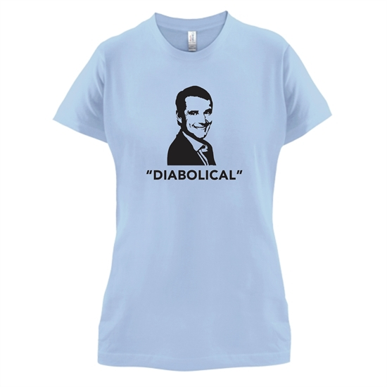 Diabolical t-shirts for ladies