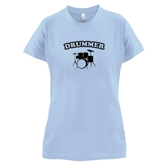 Drummer t-shirts for ladies