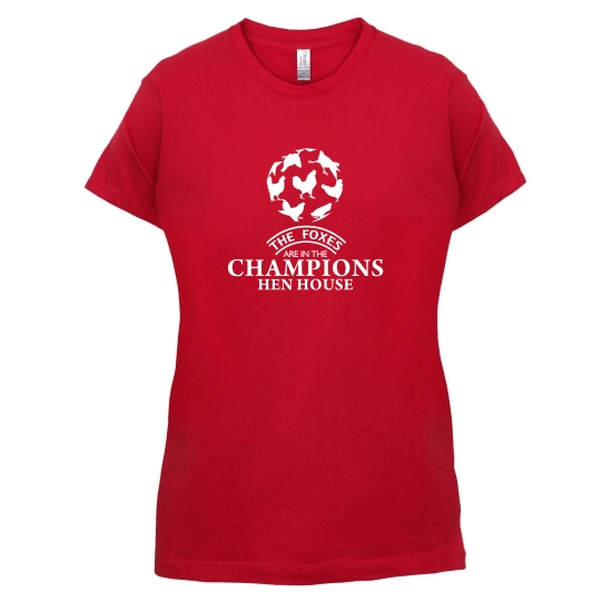 Foxes in the Champion's Henhouse t-shirts for ladies
