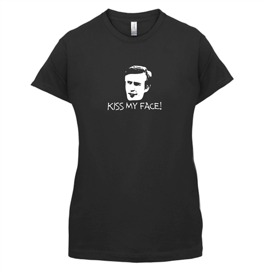 Kiss My Face t-shirts for ladies