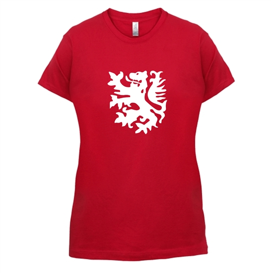 Netherlands Lion t-shirts for ladies