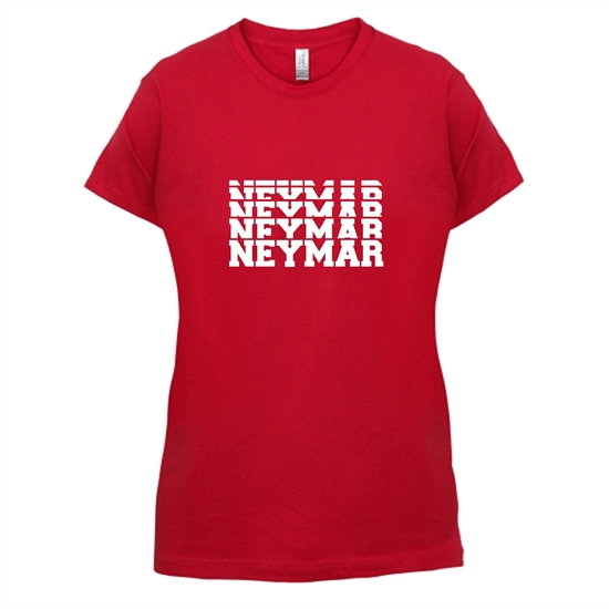 Neymar t-shirts for ladies