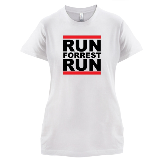 Run Forrest Run t-shirts for ladies