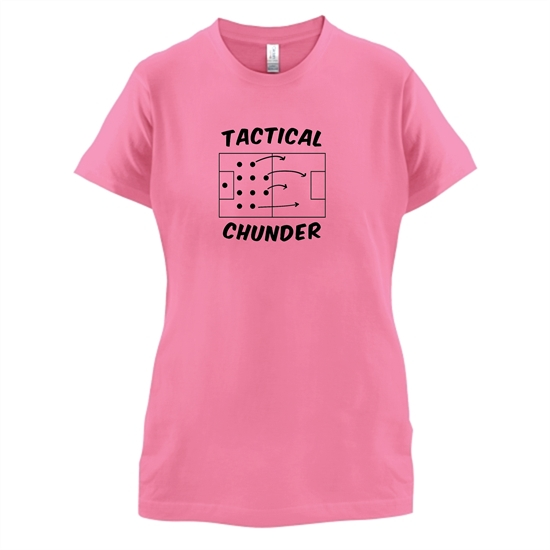 Tactical Chunder t-shirts for ladies