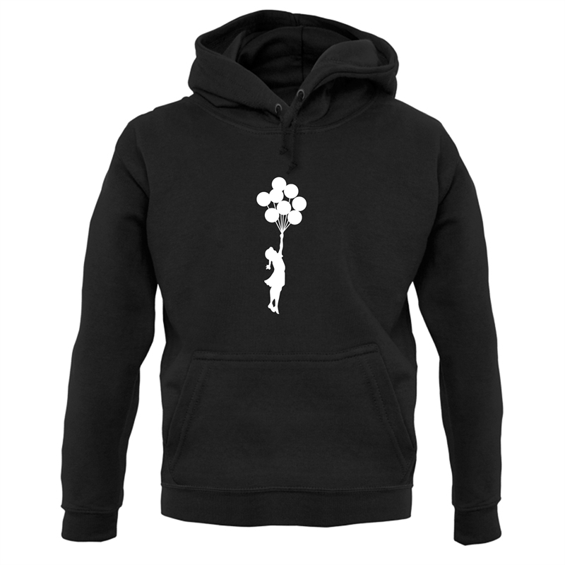 Banksy Girl Hoodies