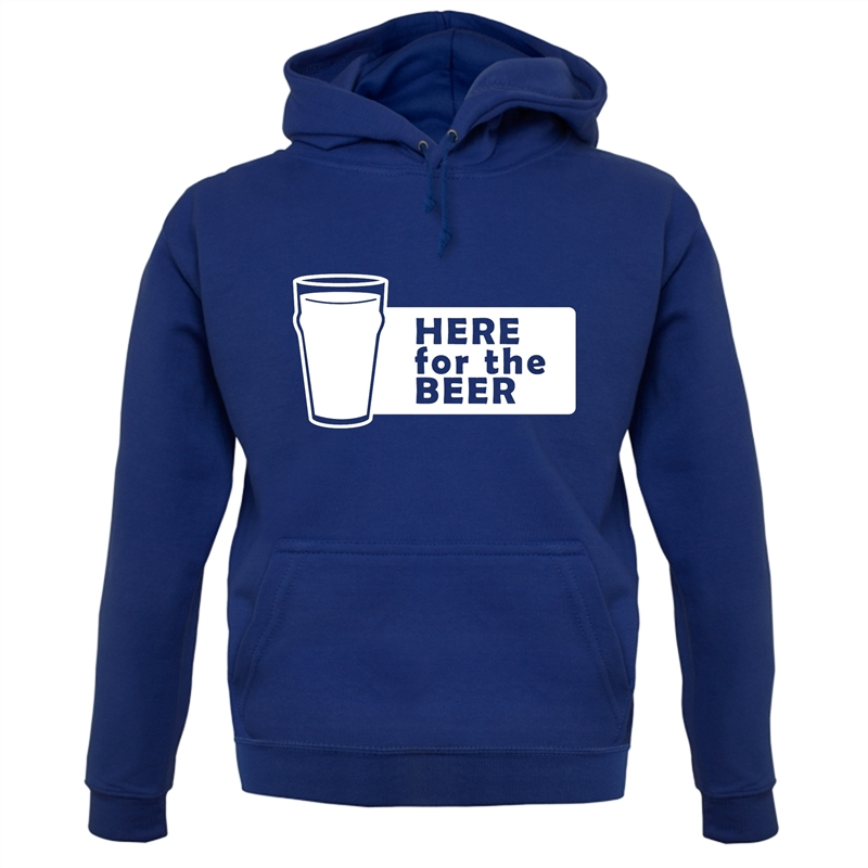 Here For The Beer Hoodies