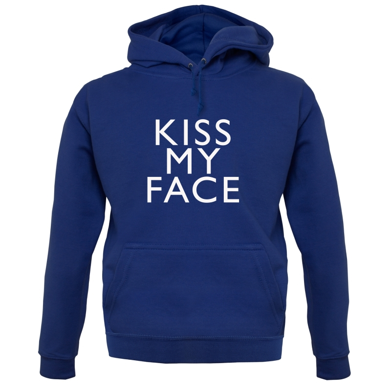 Kiss My Face - Partridge Hoodies