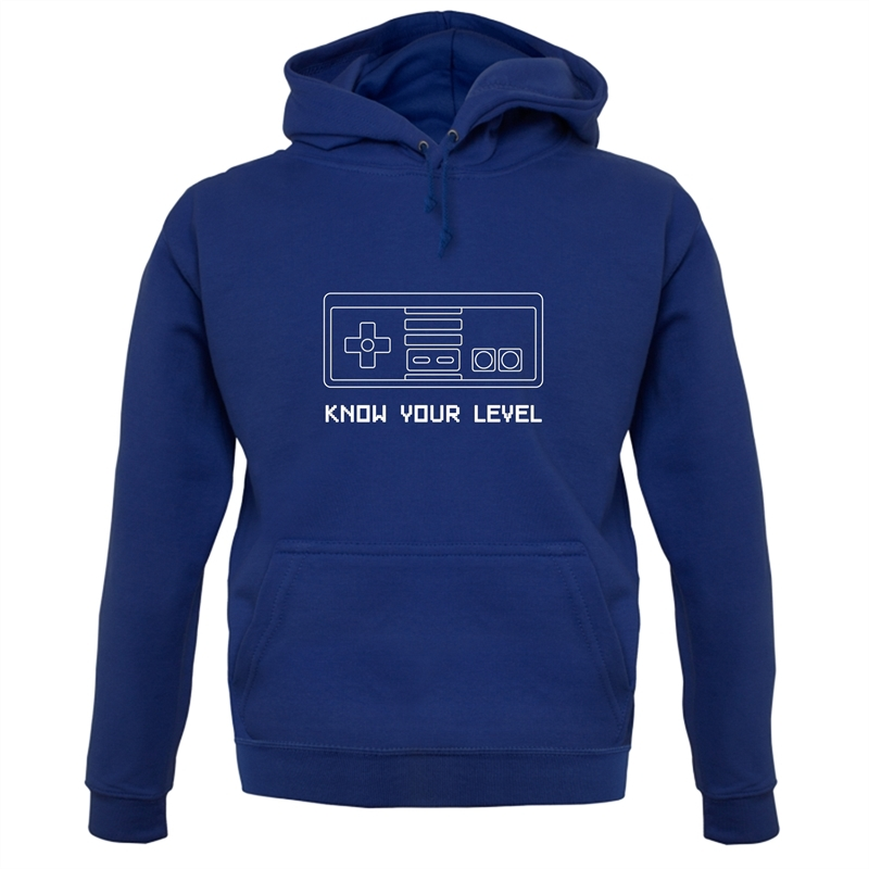 Know Your Level Hoodies