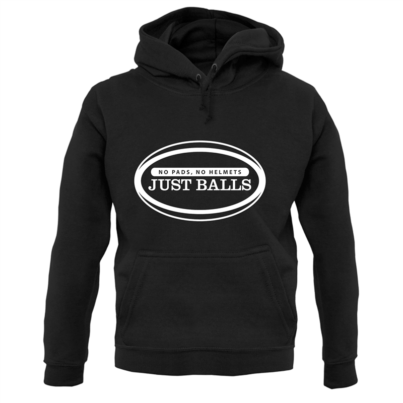 No Pads No Helmets Just Balls Hoodies