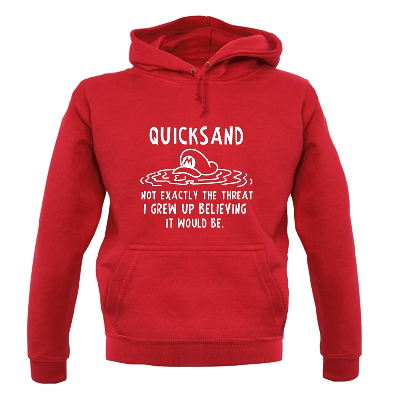 Quicksand Not Exactly The Threat I Grew Up Believing It Would Be Hoodies