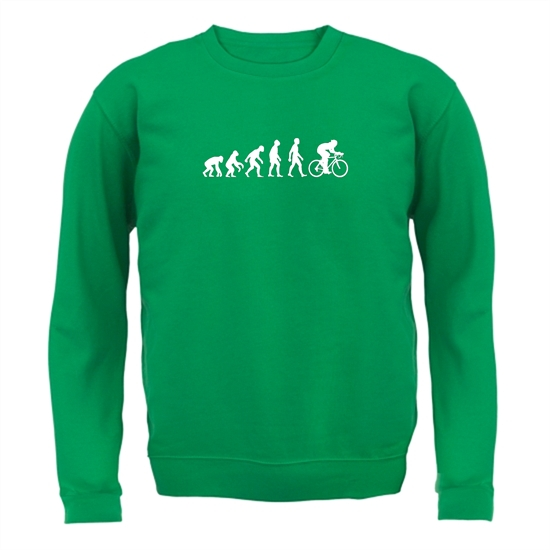 Evolution of Man Cycling Jumpers