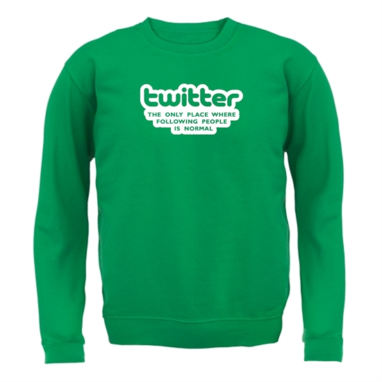 Twitter The Only Place Where Following People Is Normal Jumpers