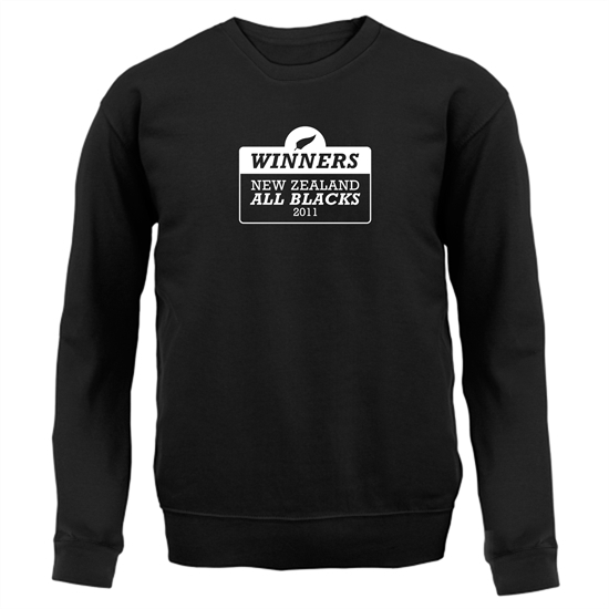 Winners New Zealand All Blacks Jumpers