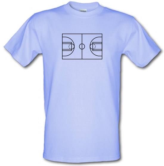 Basketball Court T-Shirts for Kids