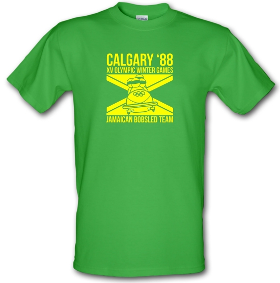 Calgary 88 Jamaican Bobsleigh Team T-Shirts for Kids