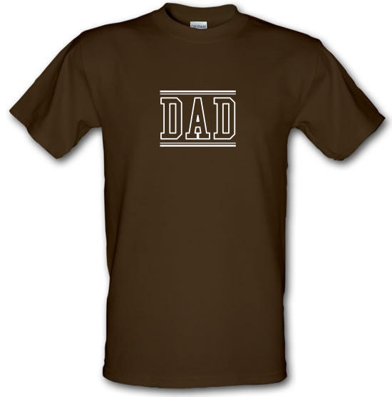 Dad  - College Style T-Shirts for Kids