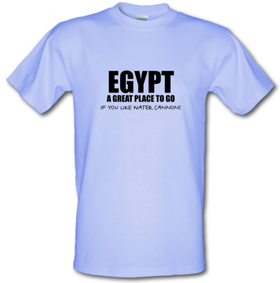 Egypt A Great Place To Go If You Like Water Cannons T-Shirts for Kids