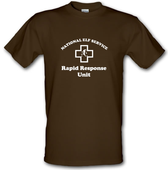 National Elf Service - Rapid Response team T-Shirts for Kids