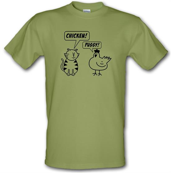 Chicken & Pussy t-shirts