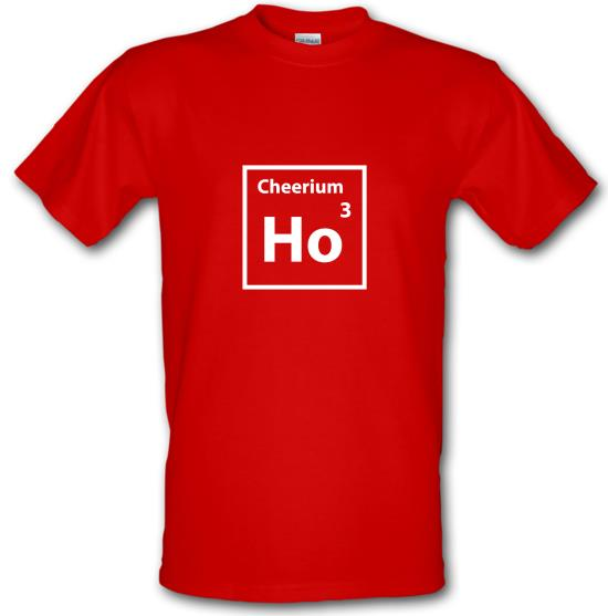 Christmas Element Cheerium Ho Ho Ho t-shirts