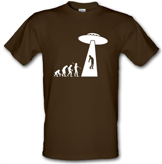 Evolution UFO t-shirts