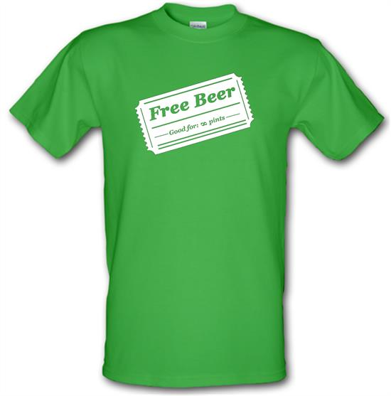 Free Beer t-shirts