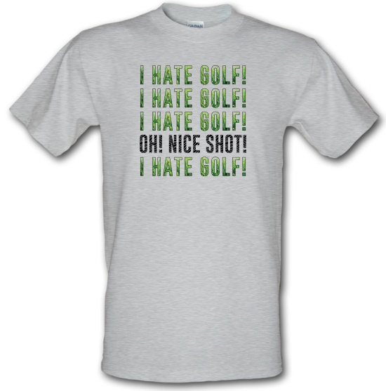 I Hate Golf t-shirts