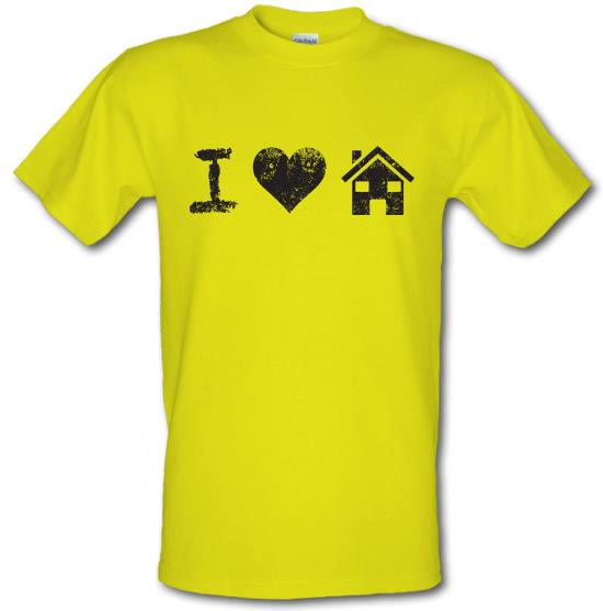 I Love House Music t-shirts