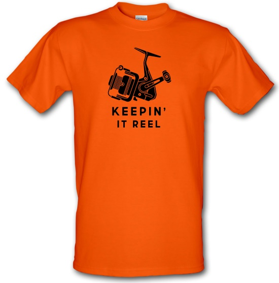 Keepin' It Reel t-shirts
