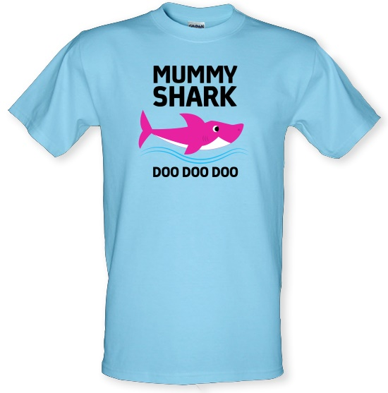 Mummy Shark t-shirts