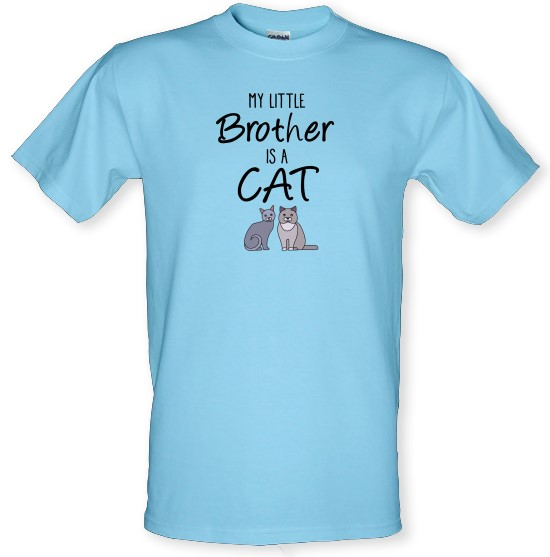 My Little Brother Is A Cat t-shirts